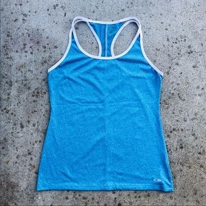 Champion workout tank top XS cute fitted tee gym